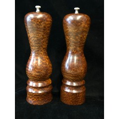 Aphrodite Salt & Pepper Mill set in Snakewood