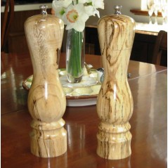 Salt or Pepper Mill in Spalted Tamarind