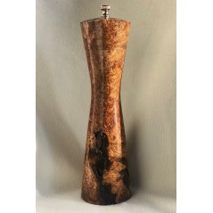 Moderna Pepper Mill set in Maple Burl