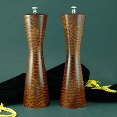 Moderna Salt & Pepper Mill set in Snakewood